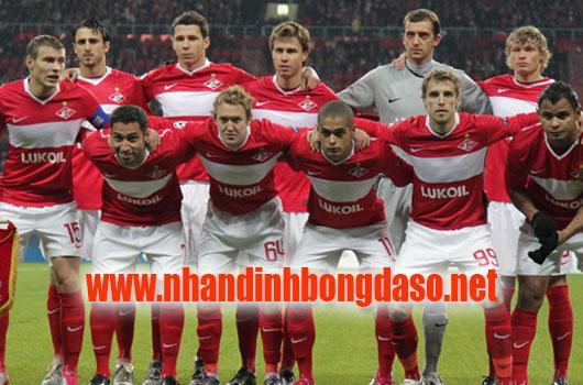 Spartak Moscow vs Maribor www.nhandinhbongdaso.net
