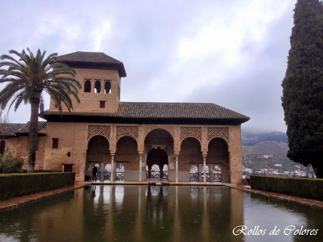 Alhambra de Granada. Jardines del Partal.