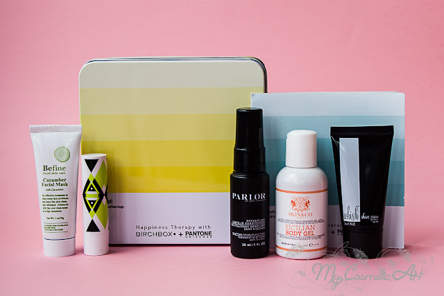 Happy Colours, la Birchbox de abril de 2016 en colaboración con Pantone.