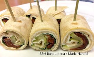 Marie Gourmet - Evento - Rollitos de tortilla