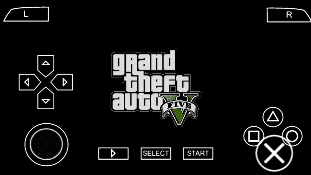 رسميا تحميل لعبة GTA V على محاكي PPSSPP الأصلية نسخة رسمية للإندرويد من ميديافير برابط مباشر 100% | GTA 5 FOR PPSSPP