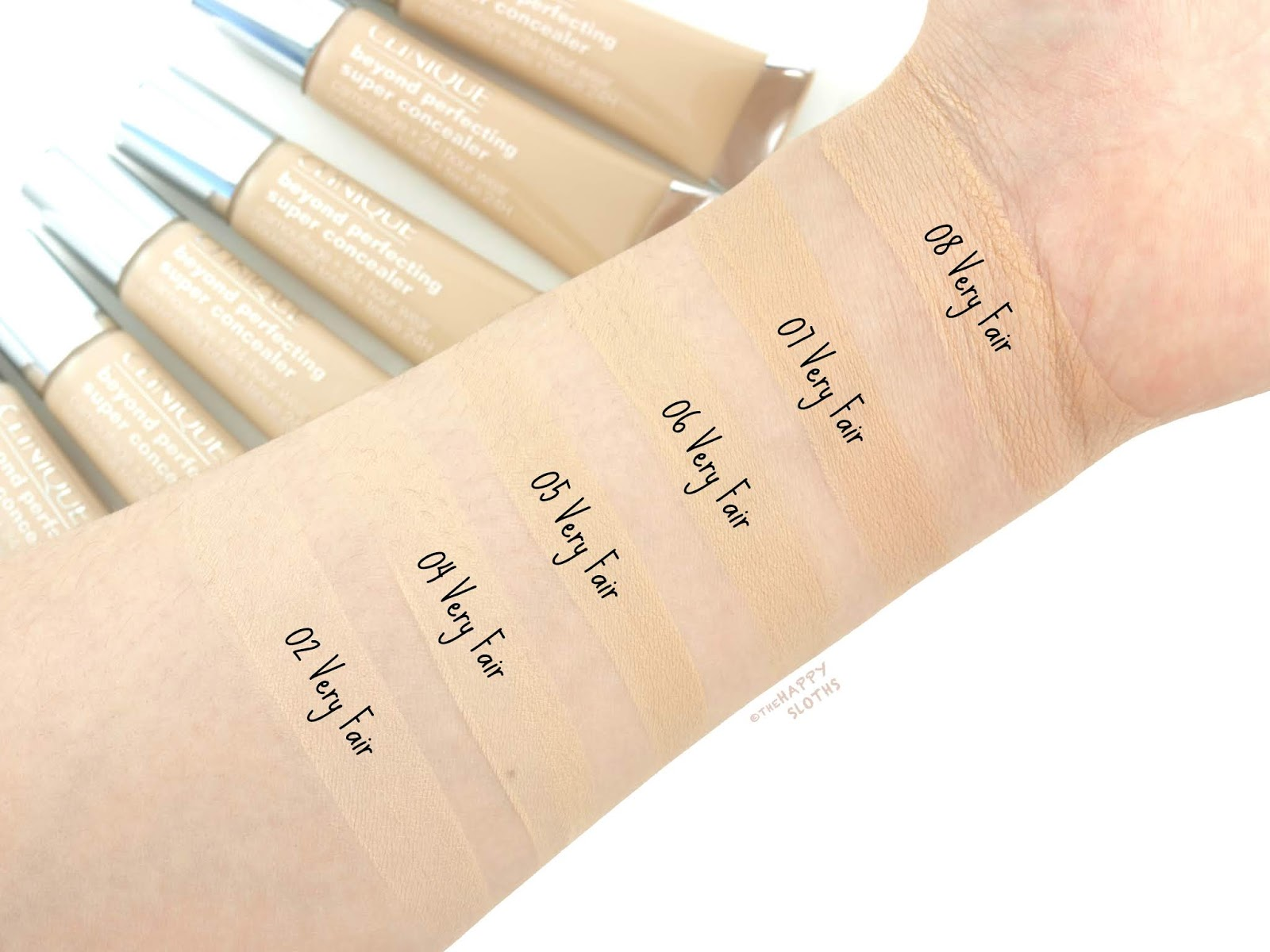 Clinique | Beyond Perfecting Super Concealer Camouflage + 24-Hour Wear: Review and Swatches