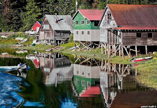 Hammer Slough in Petersburg, Alaska