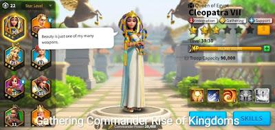 komandan farming rise of kingdoms