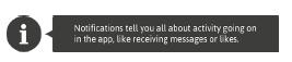 Icono de información con un tooltip asociado con un texto informativo