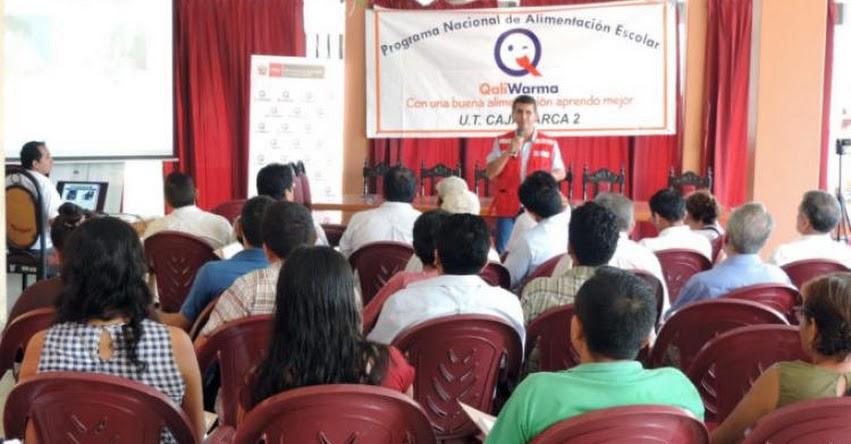 Midis - Qali Warma promueve trabajo articulado para incorporar productos locales en desayunos y almuerzos de escolares de Cajamarca - www.qaliwarma.gob.pe