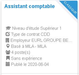 Assistant comptable