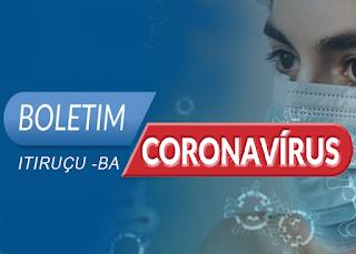 Itiruçu registra 3 novos casos de Covid-19 nas últimas 24 horas