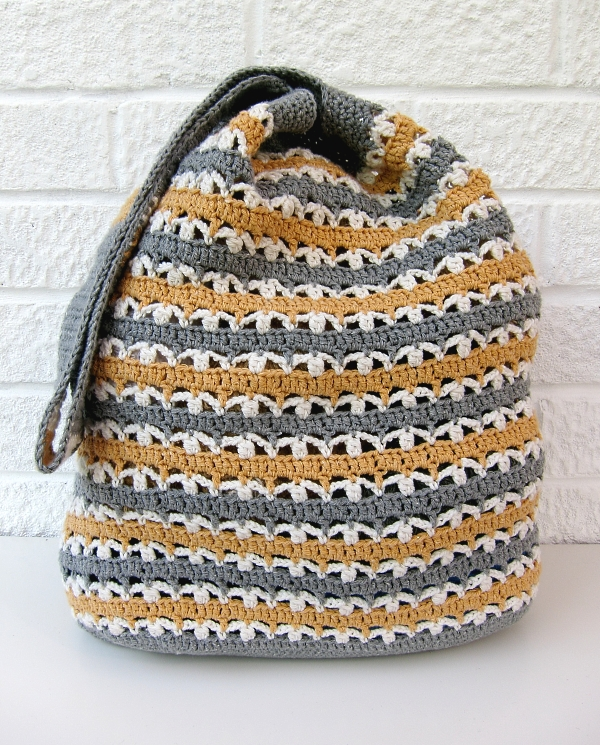 Crochet Market Bag Tutorial + Pattern