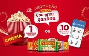 Promoção temperos Sazón 2020 compre ganhe