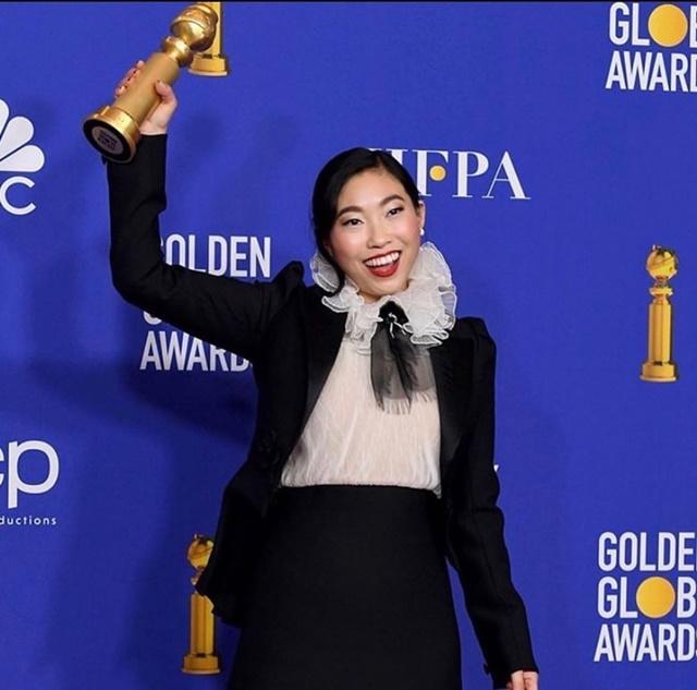 Awkwafina Golden Globe 2020-IGawkwafina