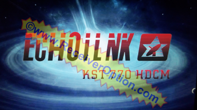 ECHOILNK KST-770 HDCM RECEIVER ORIGINAL FLASH FILE