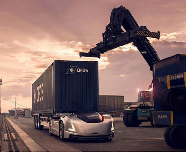 Volvo Trucks Autonomous truck vera sweden
