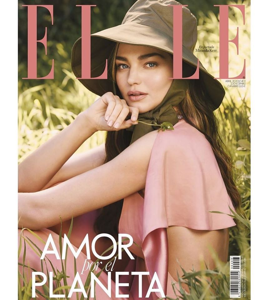Miranda Kerr for Elle Spain April 2020