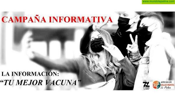 """Campaña informativa LA INFORMACIÓN """"TU MEJOR VACUNA"""""""