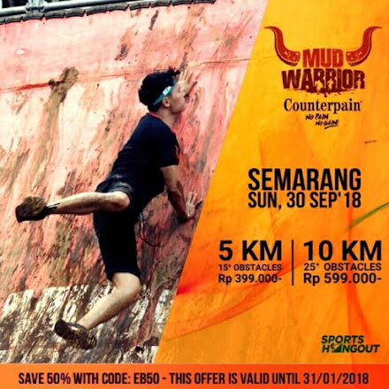 Semarang Mud Warrior 4 • 2018