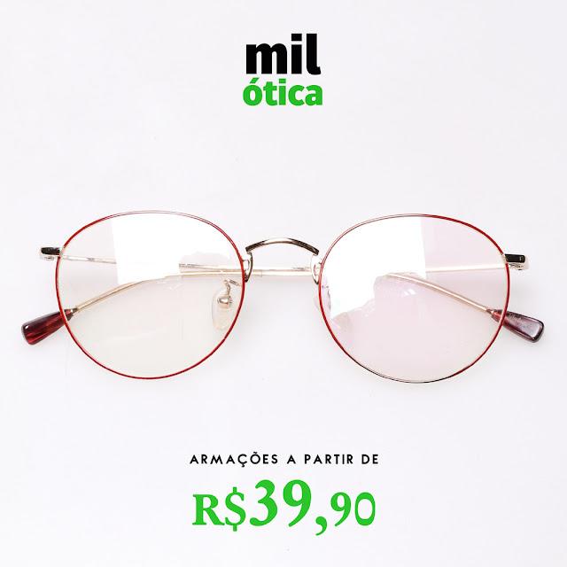 Encontre as melhores marcas de óculos na Mil Óticas