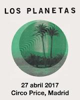 Concierto de Apartamentos Acapulco y Los Planetas en el Teatro Circo Price