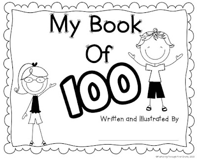 My book of 100 for the 100th Day of School