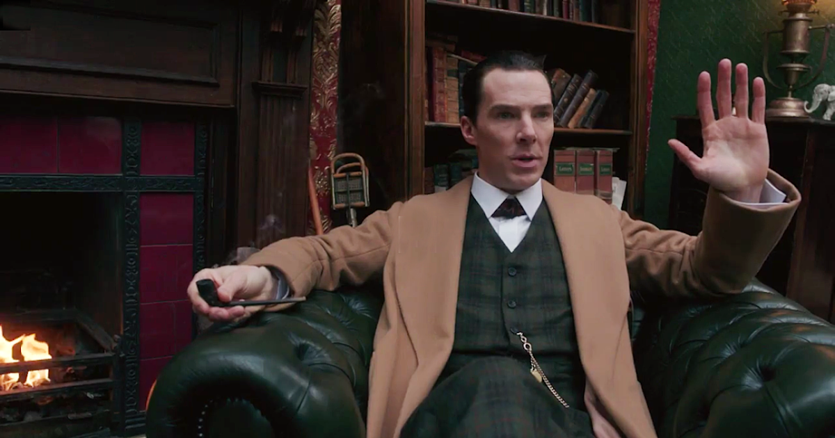 BBC's Sherlock returns with Benedict Cumberbatch and Martin Freeman