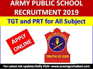 APS Missamari Recruitment 2020