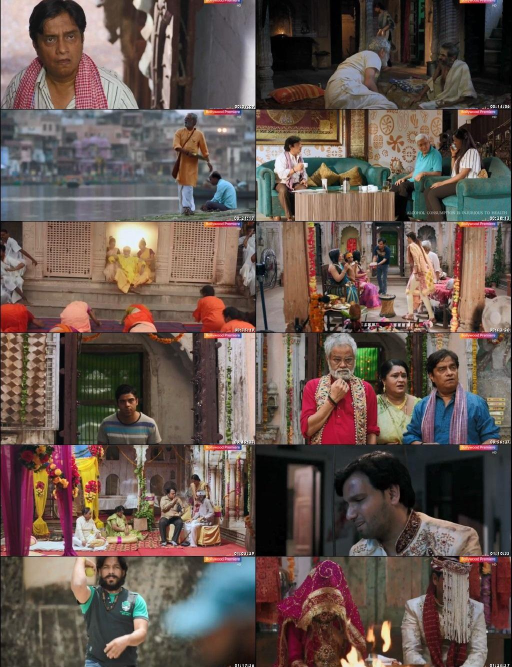 Screen Shot Of Ekkees Tareekh Shubh Muhurat 2018 300MB HDRip 480P Full Hindi Movie Watch Online Free Download