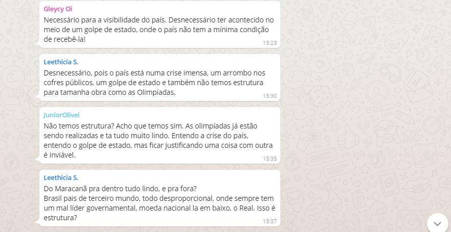 Rio 2016: Olimpíada atrapalha ou ajuda o Brasil? Participe do Debate no WhatsApp