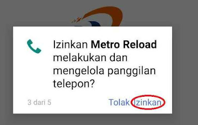 Cara Download MR Mobile Topup Aplikasi Metro Reload Pulsa