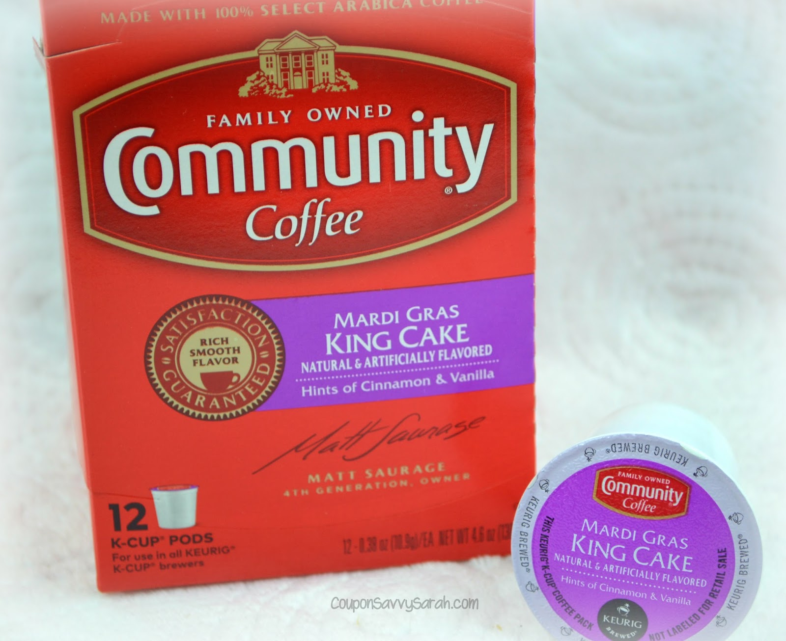Community Coffee King Cake Amazon