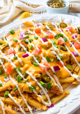 BEST LOADED CHEESE FRIES RECIPE