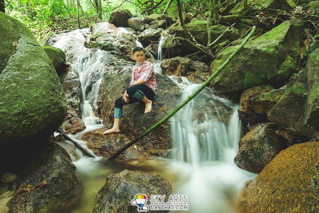 The Waterfall at FRIM Kepong