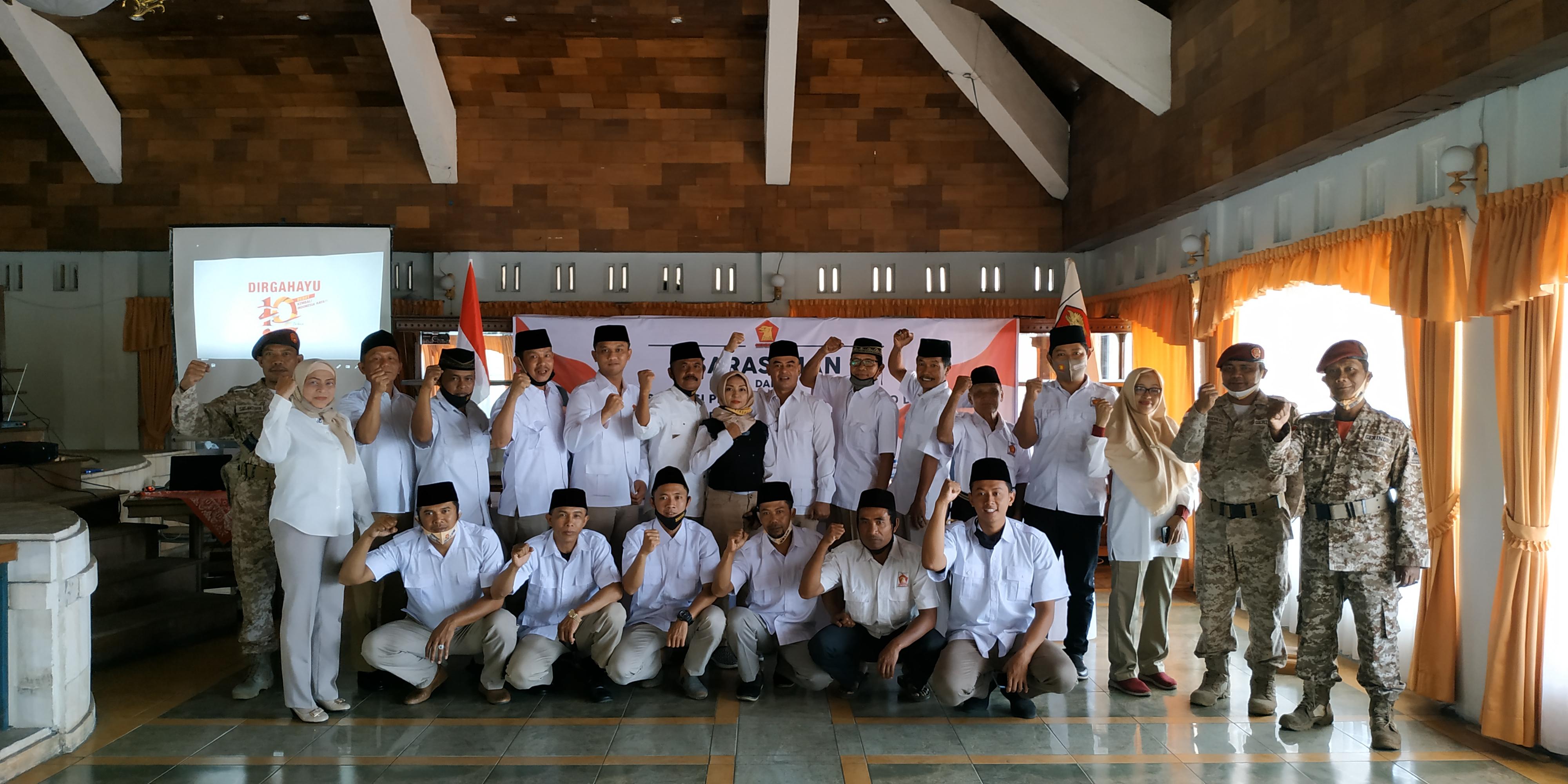 Pengurus Gerindra Kabupaten Semarang