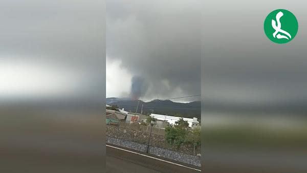 Desmentido el BULO de una nueva boca del volcán en Las Manchas