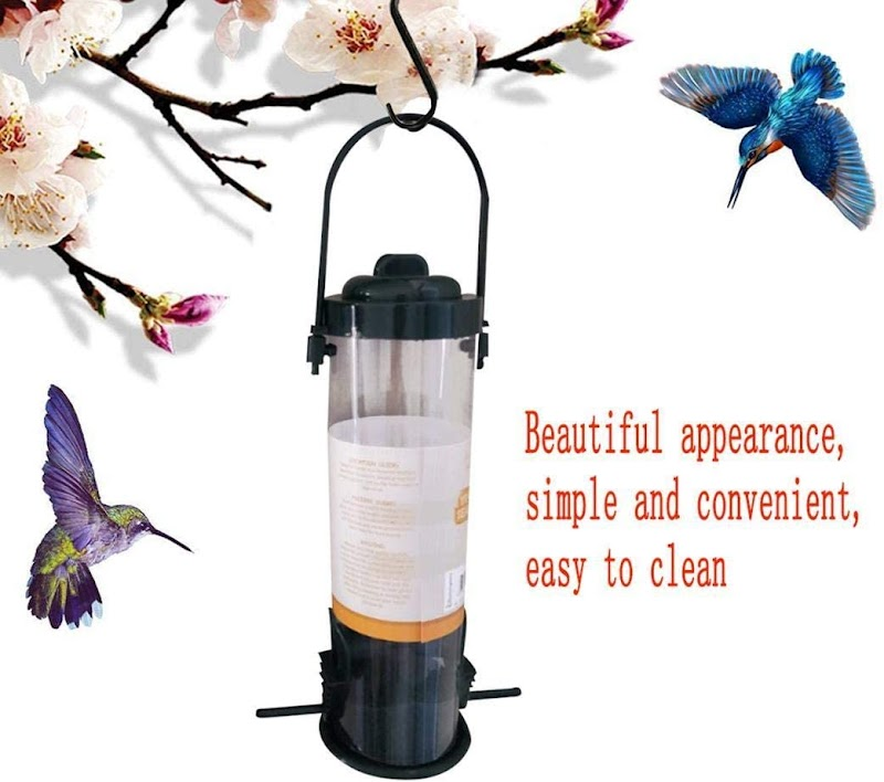 80%  off  Outdoor Balcony Hanging-Type Automatic Bird Feeder Feeding Supplies