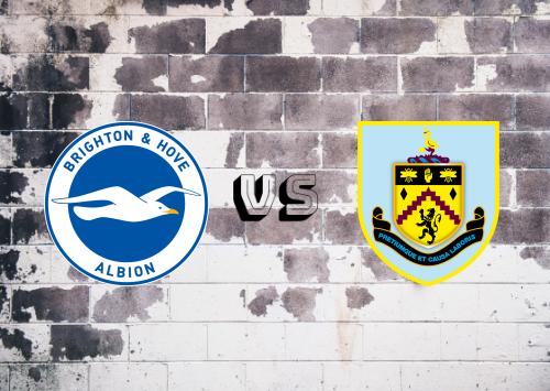 Brighton & Hove Albion vs Burnley  Resumen