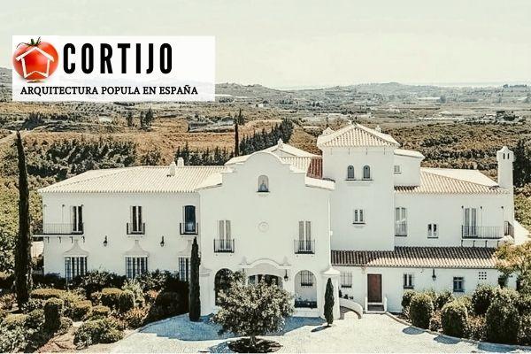 Cortijo casa típica andaluza