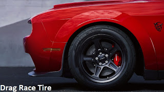 Dodge Challenger SRT Demon Drag Race Tire