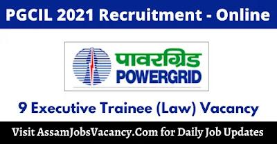PGCIL 2021 Recruitment