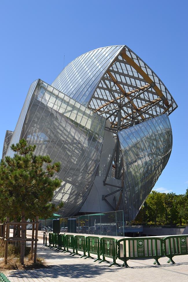 Fondation Louis Vuitton, Parigi