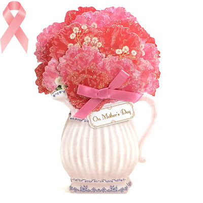 Mother's Day Decorative Water Pitcher Floral 3D Pop Up Card