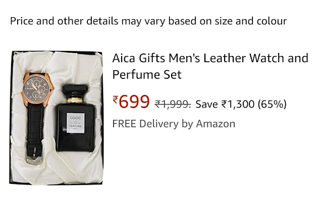 Bhaiya Dooj Gifts Online for Brother Watch and Scents