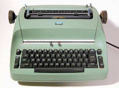 Early IBM Selectric Typewriter