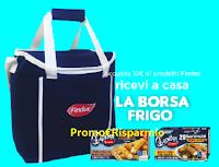 Logo Findus ''Porta con te la freschezza'' ricevi borsa frigo come premio certo