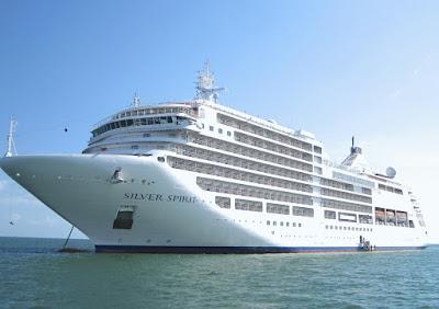 Στην Ηγουμενίτσα το πρωί της Τετάρτης το κρουαζιερόπλοιο «Silver Spirit» με 536 επιβάτες