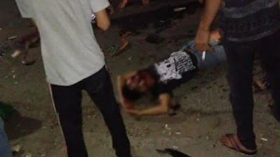 BREAKING NEWS: Pegendara Mabuk di Bone Dilarikan ke Rumah Sakit Setelah Tabrakan