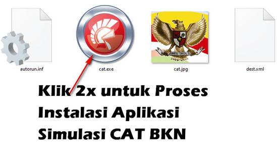 Cara Instal Aplikasi Simulasi CAT BKN