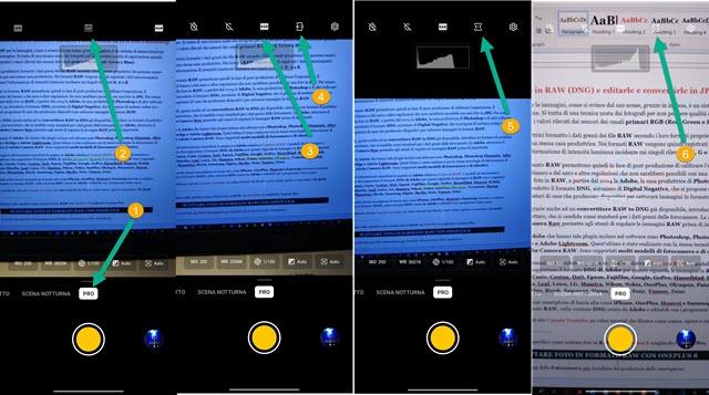 applicare la versione PRO alla fotocamera OnePlus