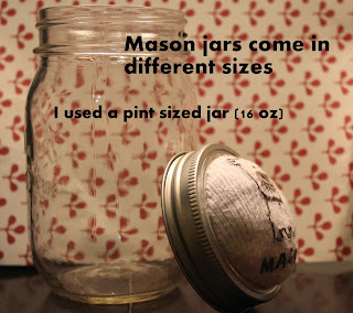 Mason Jars Come In Different Sizes This is a Pint Size