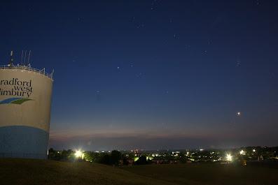 comet C/2020 F3 over Bradford