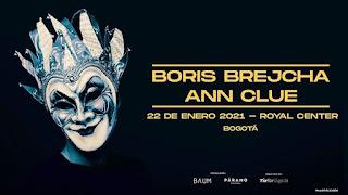 FIESTA con Boris Brejcha y Ann Clue en Colombia